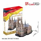 Best Local Sg Seller Cubicfun 3D Puzzle Cologne Cathedral