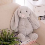 Lowest Price Long Ear Rabbit Plush Toy Grey 60Cm Intl