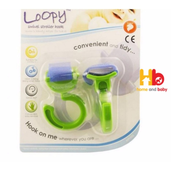 Loopy ™ Swivel Stroller Hook 609323 Singapore
