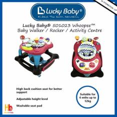 Review Lucky Baby® 501023 Whoopee™ Baby Walker Rocker Activity Centre Singapore