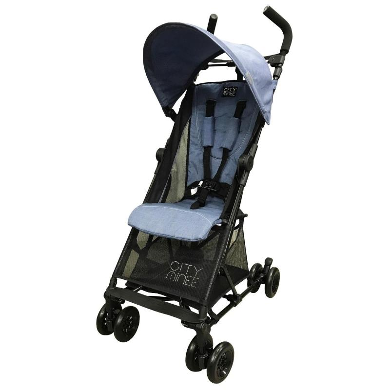 Lucky Baby® 501511 City Minee Light Weight Stroller - Blue Singapore