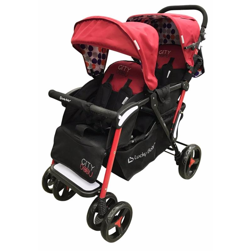 Lucky Baby® 516478 City Duo Twin Baby Stroller Singapore