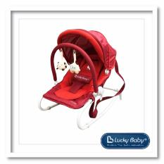 Wholesale Lucky Baby® 500040 Siesta Plus™ Baby Rocker Red Red