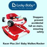 Best Rated Lucky Baby Racer Plus 2In1 Baby Walker Rocker