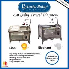 Shop For Lucky Baby® S8™ Baby Travel Playpen Elephant