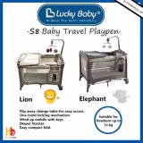 Price Lucky Baby® S8™ Baby Travel Playpen Lion Singapore