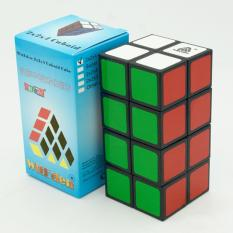 Price Lumiparty 2X2X4 Cuboid Magic Cube Pvc Sticker Brain Teaser Puzzle Toy Competition Speed Cube For All Ages Specification Black On China