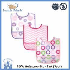 Buy Luvable Friends Peva Waterproof Bib 3Pcs Online Singapore
