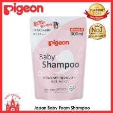 Made In Japan Pigeon Baby Foam Shampoo Floral Refill 300Ml For Sale
