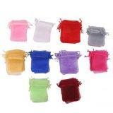 Price Magideal 100Pcs Assorted Colors Organza Bag Wedding Gift Bag 7X9Cm Intl Magideal
