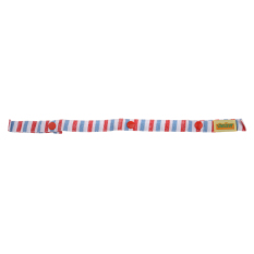 Anti Drop Toy Bottle Fastening Pacifier Clips Hanger Strap for Baby Pram Stroller Pushchair Striped Pattern Pink