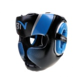 Magideal Detachable Bar Headgear Boxing Helmet Martial Arts Gear Mma Protector Blue Intl On China