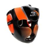 Cheap Magideal Detachable Bar Headgear Boxing Helmet Martial Arts Gear Mma Protector Orange Intl
