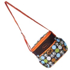 Retail Magideal Mummy Baby Nappy Diaper Changing Maternity Shoulder Bag Orange Intl