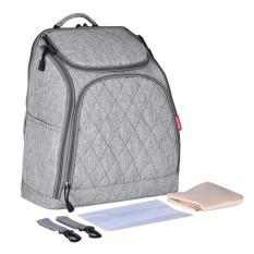 Retail Price Magideal Mummy Maternity Nappy Baby Diaper Bag Travel Handbag Backpack Light Gray Intl