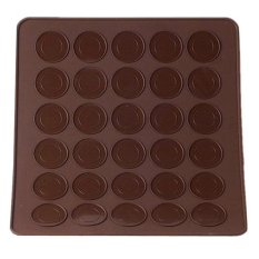 Magideal Silicone Macaron Macaroon Mat Oven Baking Liner Sheet Cookies Cake Mold Mat - Intl By Magideal