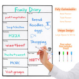 Magnetic Whiteboard Memo Stickers Message Boards For Refrigerator 16 11 75 Inches No Brand Discount