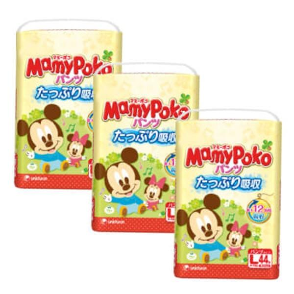 Price Mamypoko Baby Mickey Pants L44 X 3 Packs Mamypoko Original