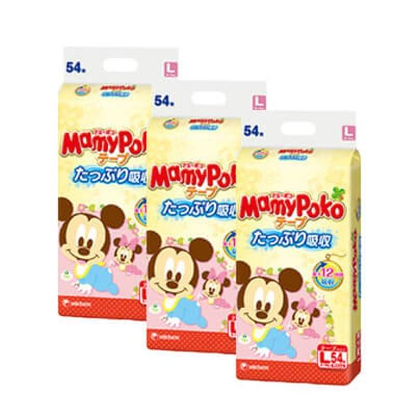 Sale Mamypoko Baby Mickey Tape L54 X 3 Packs Mamypoko On Singapore
