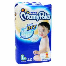 Price Mamypoko Diaper Extra Dry L 40 S X4Packs 40 Pieces Pack Online Singapore