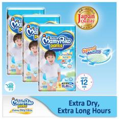 Where To Buy Mamypoko Extra Dry Pants Boy Xl 46 Pieces X 3 Packs