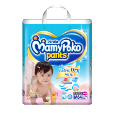 Buy Mamypoko Extra Dry Super Jumbo Pants M 64S G*Rl Cheap Singapore