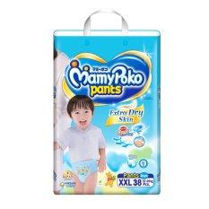 Mamypoko Extra Dry Super Jumbo Pants Xxl 38S Boy Singapore