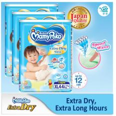 Compare Price Mamypoko Extra Dry Xl 44 Pieces X 3 Packs Mamypoko On Singapore