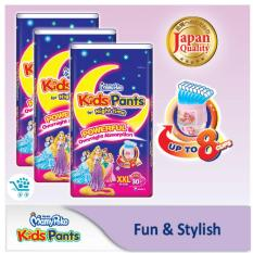 Compare Price Mamypoko Kids Pants For Night Time G*rl Xxl 30 Pieces X 3 Packs On Singapore