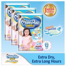 Price Comparisons Mamypoko Super Jumbo Pants Diaper L 52S G*rl 3 Packs