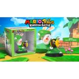 Sales Price Mario Rabbids Kingdom Battle Rabbid Luigi Figurines Collection 6 Inches 16 5 Cm