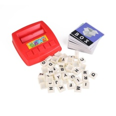 Match Words Toy See Picture Spell Words Educational Enlighten Learning Intl Reviews