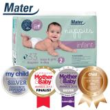 Price Mater Mothers Hospitals Baby Diapers Infant Size 2 4 To 8Kg 33 Diapers Per Pack Mater Mothers Hospitals New