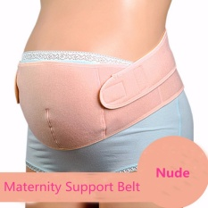 Maternity Back Support Belt Pregnancy Tummy Belly Brace (nude L) By Freebang.