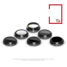 Price Mc Uv Cpl Nd4 Nd8 Nd16 Nd32 Hd Thin Camera Lens Filters For Dji Mavic Pro Polarizer Accessory Style 6Pcs Set Intl Oem Online