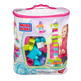 Price Mega Bloks® First Builders™ Big Building Bag Pink Mega Bloks Original