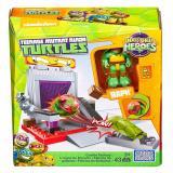 Discount Mega Construx Teenage Mutant Ninja Turtles Half Shell Heroes Cookie Factory Battle Mega Bloks