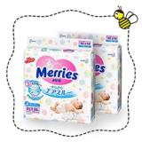 Review Merries Tape Diapers Newborn 2 Packs 96 Pieces Pack Japan Version Merries