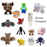 Price Minecraft Dolls Bat Zombie Cow Squider Ocelot Enderman Sheep Skeleton Wolf Ghast Minecraft Tnt Plush Education Toys For Baby Multicolor Overseas Intl Oem China
