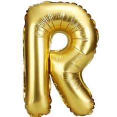 party wholesale mini 16inch happy birthday letter r balloon gold