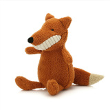 Deals For Mimosifolia Mini Fox Grinning Teeth To Appease The Doll Birthday Present Plush Stuffed Animal Toys Lumbar Cushion Pillow 28Cm Intl