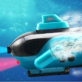 Where Can You Buy Mini Green Radio Rc Remote Control Sub Submarine Boat Explorer Led Toy Green Intl