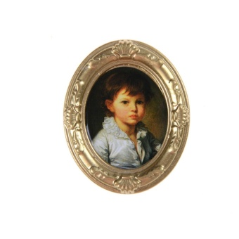 Miniature Dollhouse Framed Wall Painting Doll House Accessories Wholesale