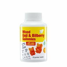 Mixed Goji Bilberry Gummies - 60 Gummies (2 Bottles) By Mt Picturebox.