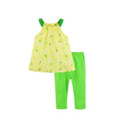 54e3614d534e Mom And Bab Daisy Collection - Daisy Woven Top and Legging Set