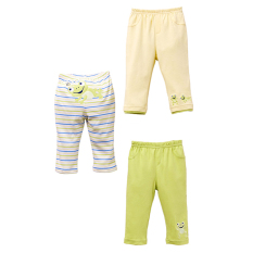 Mom And Bab Long Pants 3Pk Frog Discount Code