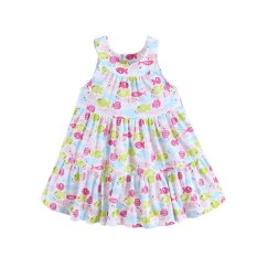 Buy Mom And Bab G*rl S Printed Sundress Fishes Online