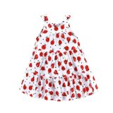 Mom And Bab G*rl S Printed Sundress Ladybugs Best Price