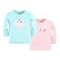 Retail Mom And Bab Top 2Pk Cupcake