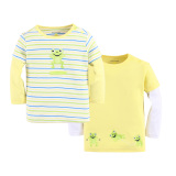 Mom And Bab Top 2Pk Frog Best Price
